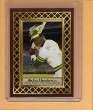 Rickey Henderson '79 Oakland A's / Jersey City, Fan Club serial numbered /300