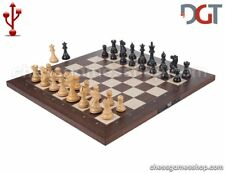 DGT USB Rosewood eBoard with EBONY pieces - Electronic chess