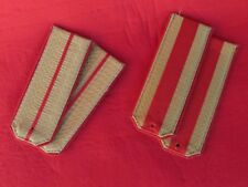 lot 2 pair Military Russian USSR UNIFORM SHOULDER STRAPS Parade