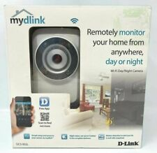 D-Link DCS-932L Wi-Fi Day Night Home Network Security Smart Cloud IP Camera