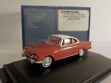 Ford Consul Capri - Red, Model Cars, Oxford Diecast