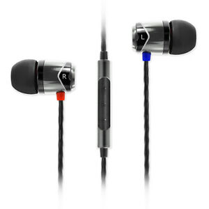 SoundMAGIC E10C In Ear Isolating Earphones with Mic - Black & Silver