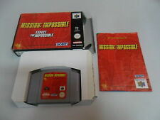 Mission Impossible Mision Imposible - Nintendo 64 - N64 - PAL UK Completo