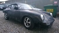 Blue 1968 Porsche 911 912 Coupe 2.7 Engine Restoration Project SWB Black