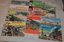 11 vintage American Flyer Catalogs S Scale 1957 1960 and more !