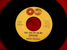 BRENDA HOLLOWAY~YOU CAN CRY ON MY SHOULDER~NEAR MINT~HOW MANY ~ NORTHERN SOUL 45