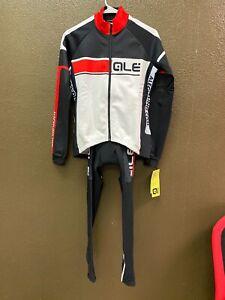 Alé Cycling Winter Jacket & Bibtight Kit - Red/Blk/Wht - Women's Small