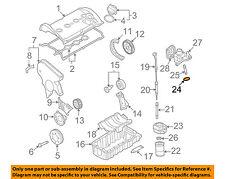 VW VOLKSWAGEN OEM 98-06 Beetle Engine Parts-Oil Cooler Seal 038117070A