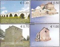 Kosovo (UN-verwaltung) 86-89 (kompl.Ausg.) postfrisch 2007 Architektur