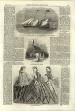 1861 New English Church at Chamonix Steam Yacht construit pour El Hami Pacha