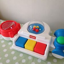 Vintage Retro PLAYSKOOL 1991 Children's Toddler Baby Toy Piano / Horn / Rattle