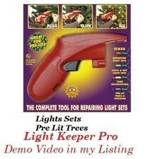 Light Keeper Fix Christmas Light Tree Repair Tool Holiday Bulb Tester Puller PRO