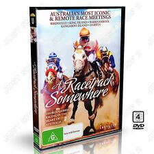 A Racetrack Somewhere : Horse Racing Documentary : New DVD