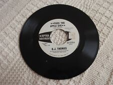 B J THOMAS  PASS THE APPLE EVE/FAIRY TALE OF TIME SCEPTER 12255 PROMO