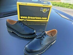 Dr Martens 8249 black matt leather shoes UK 11 EU 46 Made in England