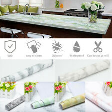 Marble Contact Paper Self Adhesive Wallpaper Pvc Peel & Stick Sticker Kitchen Us