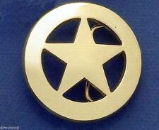 Ranger Star Belt Buckle (Brass)