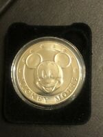 Disney Classic Coin MICKEY MOUSE Silver Coin by Ceasar Rufo Medallion