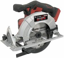 "King Canada Tools 8050L 20V MAX LITHIUM-ION CORDLESS 6-1/2"" CIRCULAR SAW"