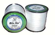 Braid Fishing Line 30LB - 500m Bite Me™ 4 Strand PE Braided White Jigging Tackle