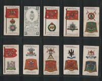 Tobacco cards set  Cigarette cards British Regiments 1903