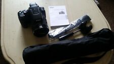 Nikon COOLPIX P900 16.0MP Digital Camera - Black + tripod + 64 gb sd card - used