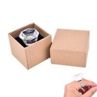 3D Eyelash Extension Crystal Glass Adhesive Glue Ring Holder Pallet Ws