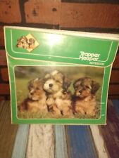 Rare Vintage Green Trapper Keeper 1980s Puppy Dog Puppies Retro Old School Book