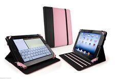 Apple Ipad 2 3 4 Aire Hibernación Funda Smart Soporte Tuff-Luv Piel Sintética