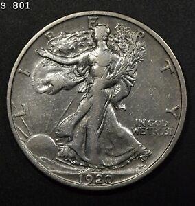 "1920-S Liberty Walking Half Dollar ""XF"" *Free S/H After 1st Item*"