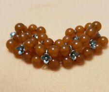 14.48g Vintage USSR Natural Amber Bracelet