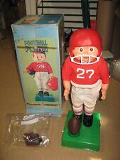 Rare vintage Bandai Sears Football Player battery operated mechanical Kicker toy