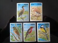 KENYA 1984 RARE BIRDS 5v MNH MINT SG303/307 CV £18+