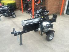 NEW HONDA GX200 POWERED 30 Ton Log Splitter, Vert & Hor Operation Splits Redgum!