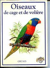 OISEAUX DE CAGE ET DE VOLIERE - S. Chvapil 1983 - Ornithologie