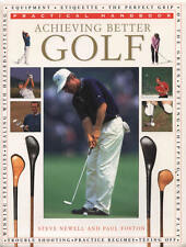 Achieving Better Golf by Paul Foston, Steve Newell (Paperback) NEW BOOK
