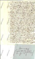 1841 PIOVE DI SACCO (PD) Testamento Francesco PERSICO rovinato dalle disgrazie