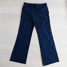 BCBG Max Azria Straight Leg Black Soft Wool Viscose Spandex Pants - Size 6