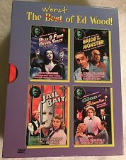 THE WORST OF ED WOOD plan 9 from outer space / glen or glenda ? Oop Dvd Set.