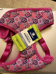 Too Paw Comfort Harness, Pink Floral- Small