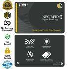 2x TOPA RFID Blocking Credit/Debit Card Protector NFC Contactless Signal Blocker