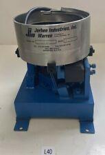 Jerhen Industries Inc Vibratory Stainless Steel Bowl Feeder 6 Diameter 112742