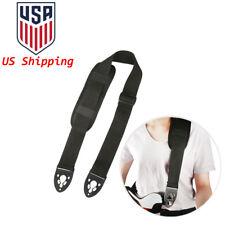 Fashion Poly Guitar Strap Belt w/ Shoulder Pad Lock End for Electric Guitar Bass