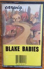 Earwig Blake Babies 1989 Cassette Tape Light Wear