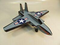 Wood Toy Jet Navy Tomcat F 16 Type
