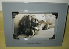 "GRASSLANDS ROAD DOG ""THE FAMILY MASCOT "" PICTURE PET FRAME FITS 4X6 PHOTO NIB"