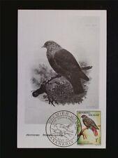 MALAGASY MK 1963 BIRDS VÖGEL VOGEL MAXIMUMKARTE CARTE MAXIMUM CARD MC CM c7007