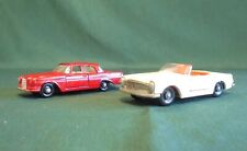 2 vintage Matchbox/Lesney cars from the 1960's.