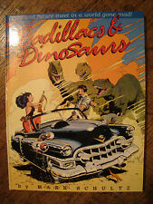 Mark Schultz Cadillacs & Dinosaurs Signed #'d 545/1500 NM+ HC Xenozoic Tales OOP