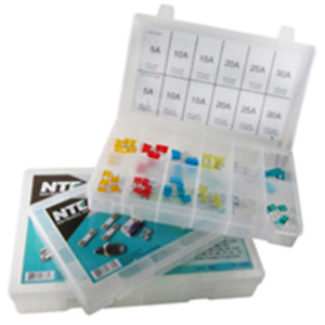 NTE Electronics 74-3AGKIT FUSE KIT 3AG EQUIVALENT 6 X 30MM GLASS ASSORTED